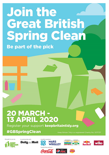 Poster for the Great British Clean