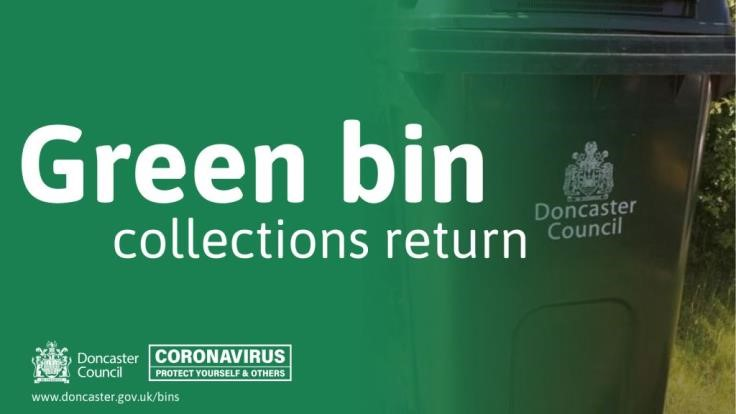 Green bin collections returning