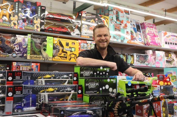 David Binns of DK Bargains