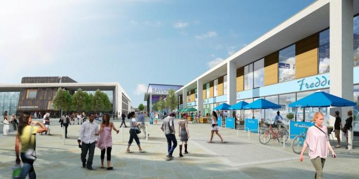 New cinema complex in Doncaster artist impression MR
