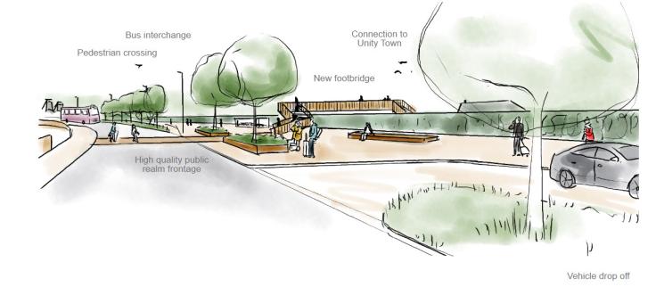 Stainforth Towns Fund bid - Station Gateway