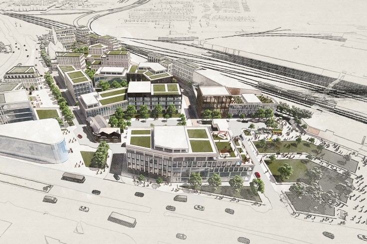 Towns Fund - multi-use building and public realm cropped