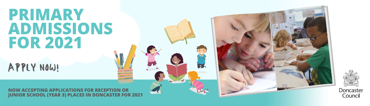Primary School Admissions for 2021 Apply Now