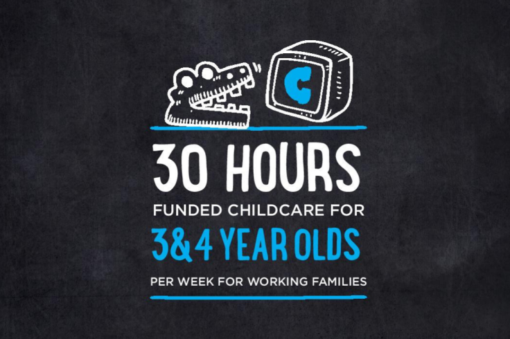 30 hours funded childcare for 3 and 4 year olds banner image