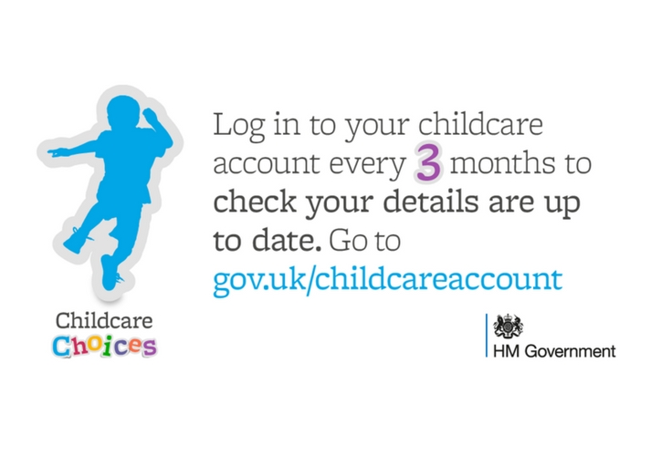 childcare remember to renew every 3 months