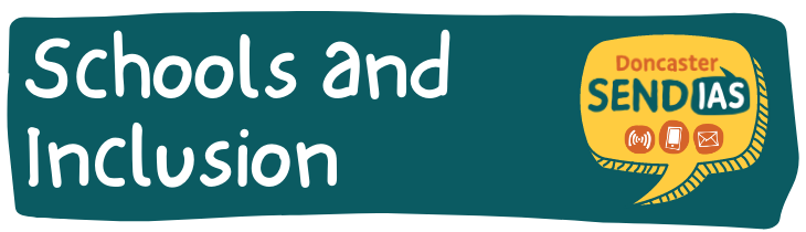 Image showing the text, Schools and Inclusion