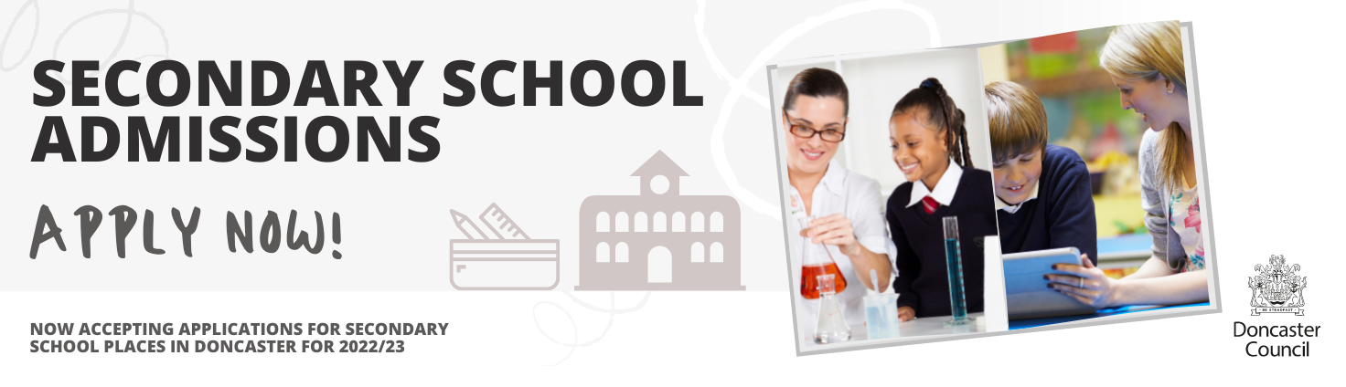 Apply now for Secondary School Admissions for 2022/23