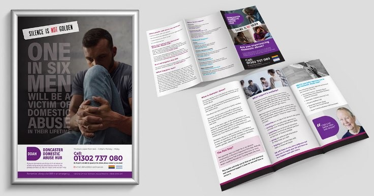 Domestic Abuse Practitioner Resource Leaflet and Poster
