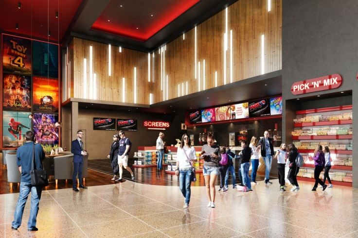 How inside of the new cinema could look