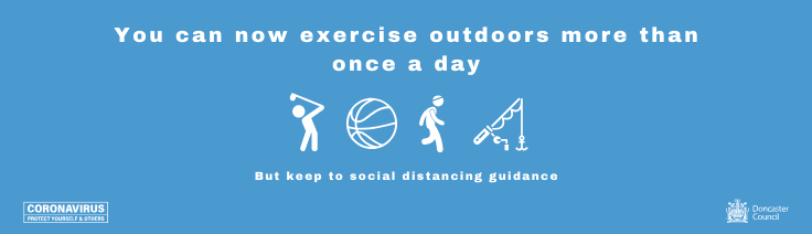 Sport and Exercise Outdoors new Coronavirus advice
