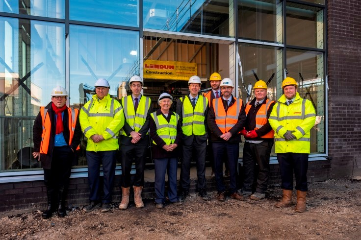Cinema topping out ceremony