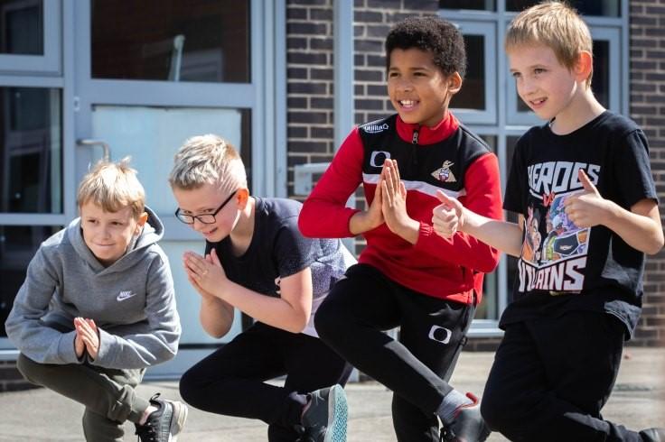 Doncaster Dances Southfield Primary Workshop