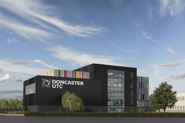 View of Doncaster UTC from College Road