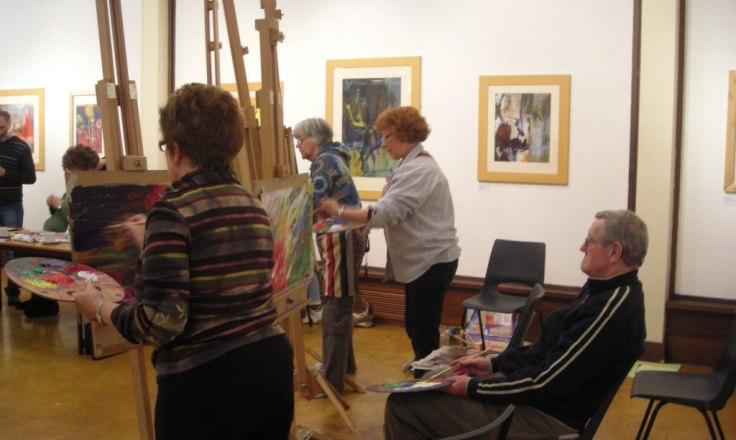 Image of life drawing sessions