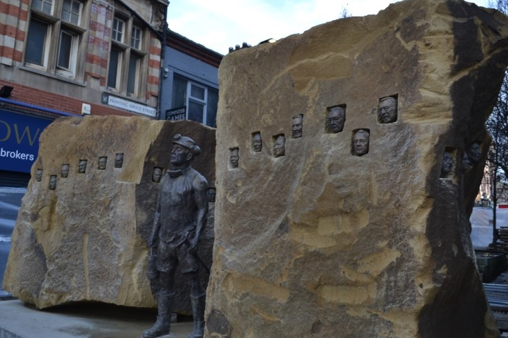 Doncaster's mining statue2 web
