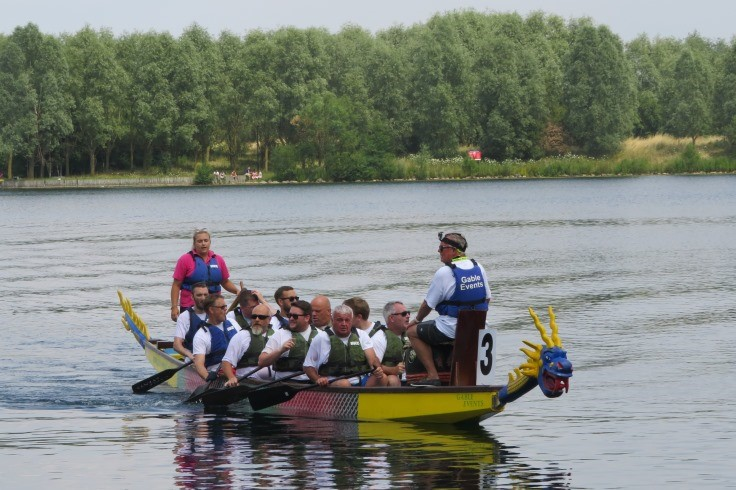 The Dragon Boat Challenge at Doncaster Lakeside