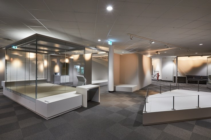Museum exhibits space at DGLAM