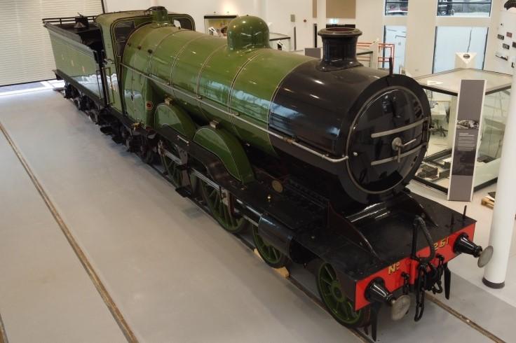 No 251 in the rail heritage centre