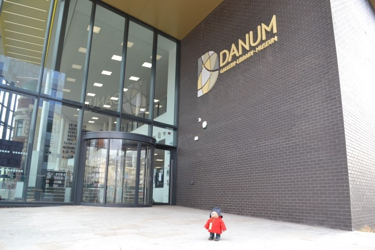 Paddington outside Danum Gallery, Library and Museum web