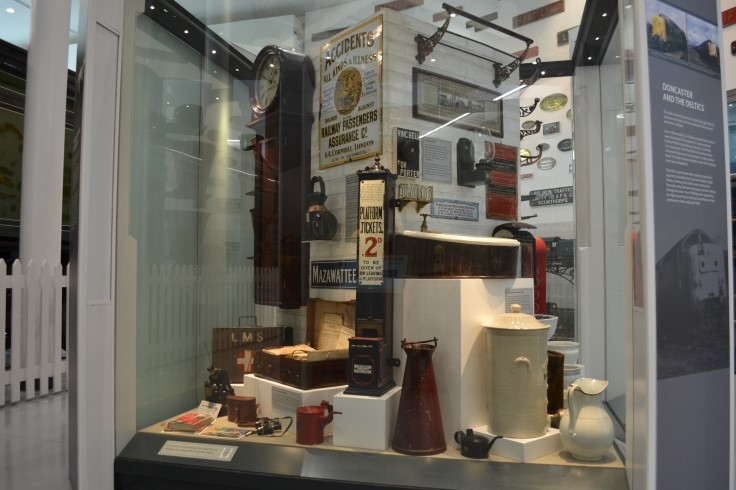 Part of the Doncaster Grammar School Railway Collection web
