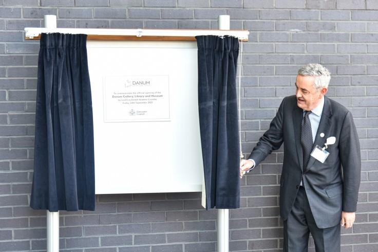 DGLAM plaque unveiled