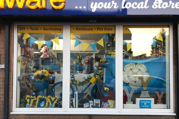 Best Dressed Window Competition - Best Dressed On Route Winner - Danum Home Hardware