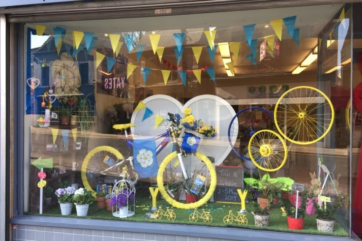 Best Dressed Window Competition - Best Dressed Town Centre - Flowers by Kerry Gough