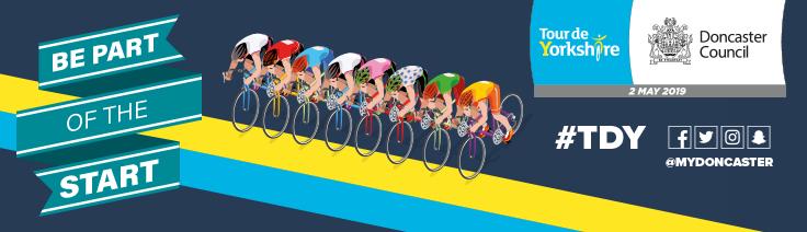 Tour de Yorkshire 2019 banner
