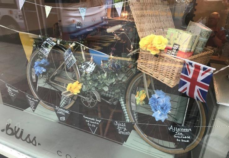 Bliss Coffee Shop - Runner Up Best Dressed Window Thorne
