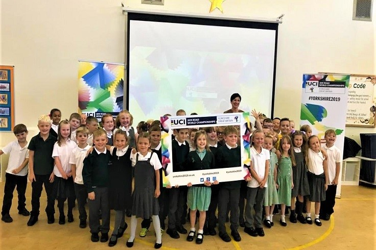 UCI Rainbow Tour at Thorne Green Top Primary School