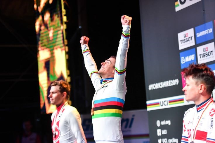 Samuele Battistella of Italy becomes World Champion