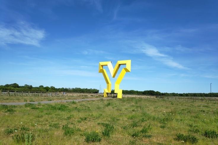 Yorkshire Gateway piece of art
