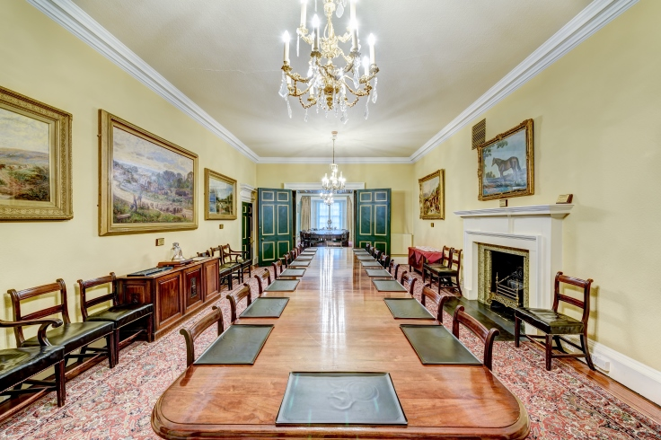 One of many rooms for meetings and gatherings