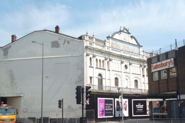 View towards The Grand Theatre
