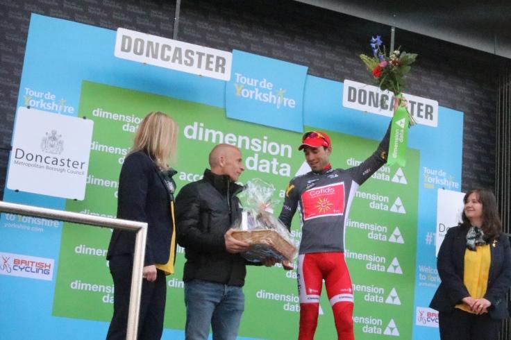 TDY trophy presentation