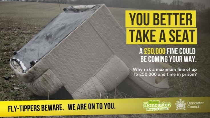Fly Tipping April 2020 campaign