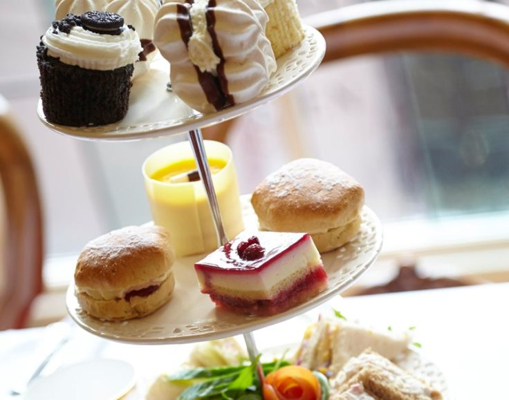 Sample of the afternoon tea at the Mansion House