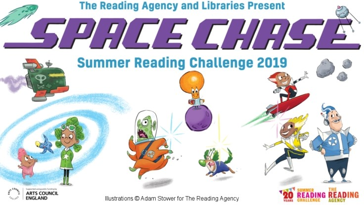 Summer Reading Challenge 2019 - Space Chase