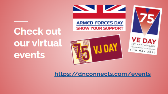 VJ Day celebrations online with dnconnects