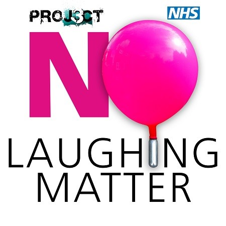NO Laughing Matter Campaign artwork