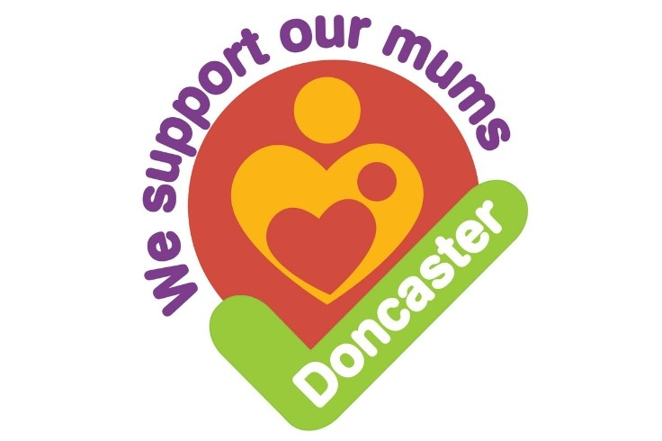 We support our mums logo - Breastfeeding campaign