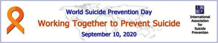 World Suicide Prevention Day takes place on 10 September 2020