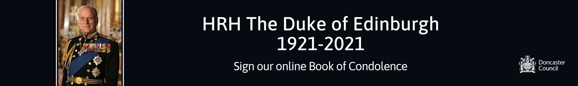 HRH The Duke of Edinburgh online condolence book