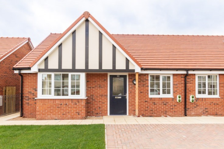 New homes at Layden Drive in Scawsby