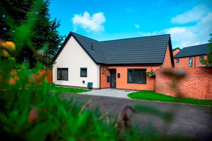 A new council bungalow