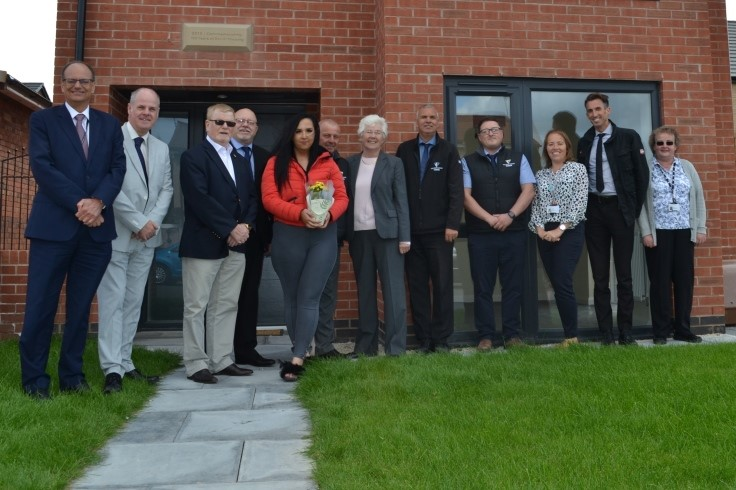 The final home at Bristol Grove in Wheatley is handed over