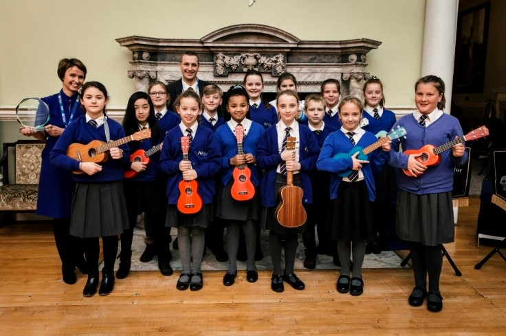 Doncaster Music Awards - Crookesbroom Primary Academy winners of the Ukelele Award