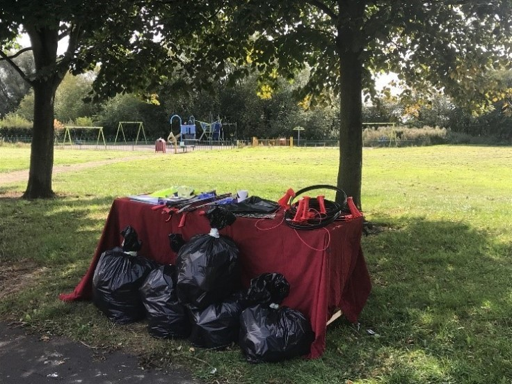 Rubbish collected at Askern