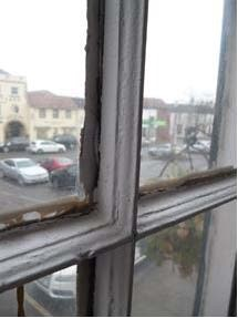 window showing glazing bar detail