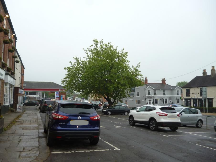 Street character shown in photo of Bawtry area